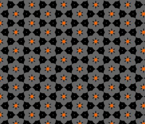 Field of flowers fabric by mezzime on Spoonflower - custom fabric