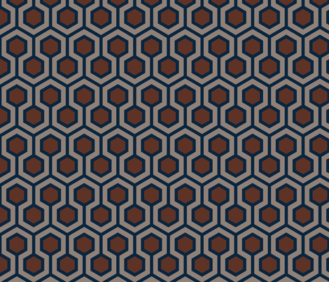 Honeycomb Traditional fabric by mariafaithgarcia on Spoonflower - custom fabric