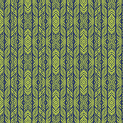 ikat peacock lime coordinate