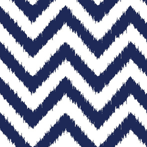 chevron ikat nnavy