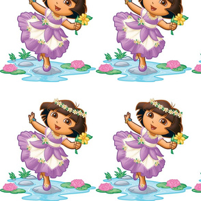 Dora_in_Enchanted_Forest_dress__2_
