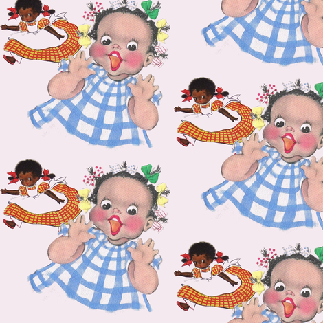 party girls fabric by nalo_hopkinson on Spoonflower - custom fabric