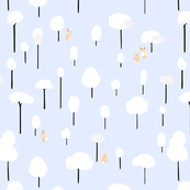 Bunnies_in_a_snowy_forest