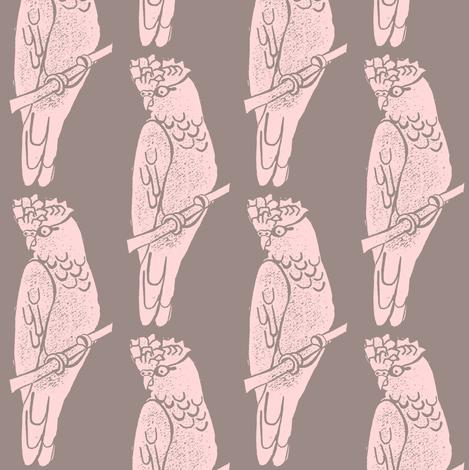 Galah - Custom fabric by owlandchickadee on Spoonflower - custom fabric