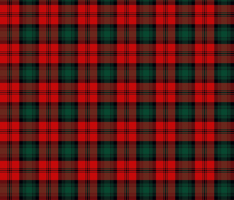 Small 1189102_Jon_Pertwee_Tartan_1 fabric by warmcanofcoke on Spoonflower - custom fabric