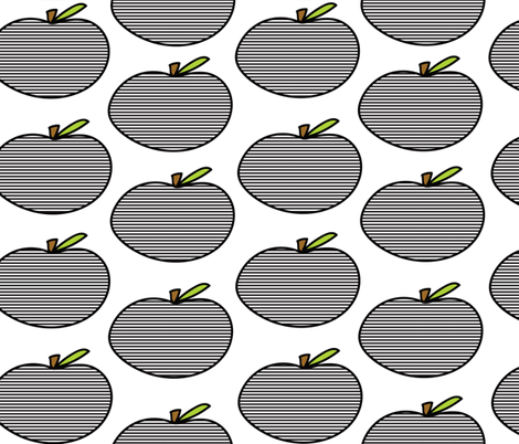 Apples to apples fabric by zimbiezooella on Spoonflower - custom fabric
