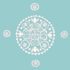 Lotus Flower Circle