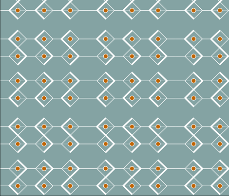 Diamond Mod Pattern fabric by svaeth on Spoonflower - custom fabric