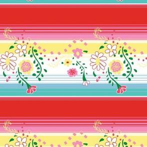 poncho daisy  ©2014 Jill Bull