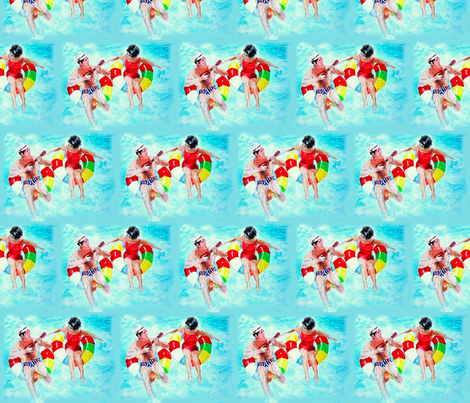 Pool fabric by bettinablue_designs on Spoonflower - custom fabric