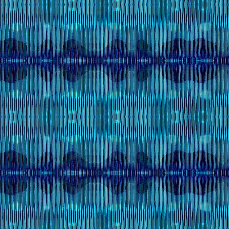 blue sherbet stripes 2 fabric by dk_designs on Spoonflower - custom fabric