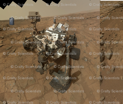 curiosity finds a phone booth on mars