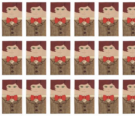 Eek, I've Flattened the 11th Doctor fabric by sharlzndollz on Spoonflower - custom fabric