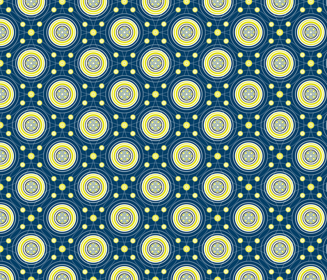 wee baskets of firefly light! fabric by moirarae on Spoonflower - custom fabric