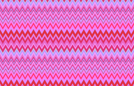 Sunset Chevron fabric by peacoquettedesigns on Spoonflower - custom fabric