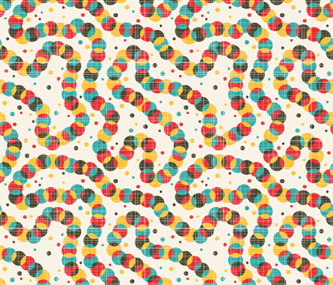 Colorful worm. fabric by panova on Spoonflower - custom fabric
