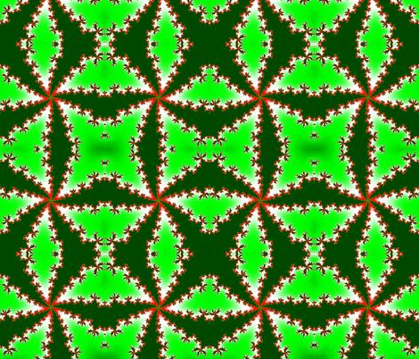 Holly fabric by xx_rapunzel_xx on Spoonflower - custom fabric