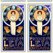 Art Nouveau Princess Leia