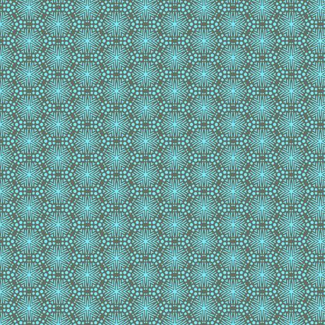 Rimini Stars - Gray fabric by siya on Spoonflower - custom fabric