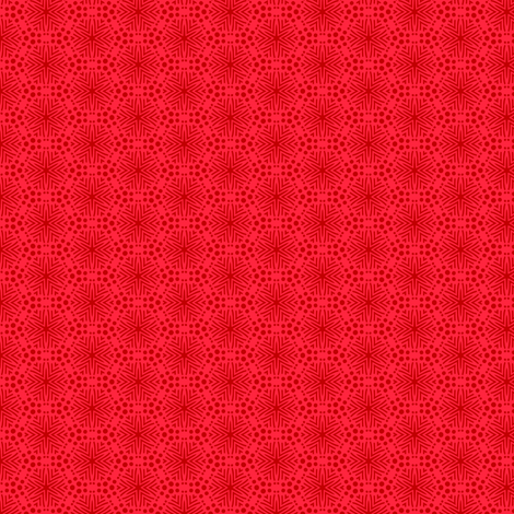 Rimini Stars - Red fabric by siya on Spoonflower - custom fabric