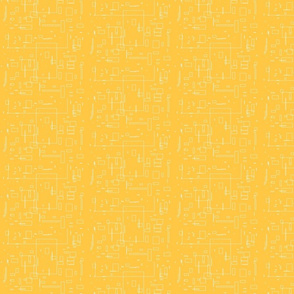 Crazy Rectangles in yellow