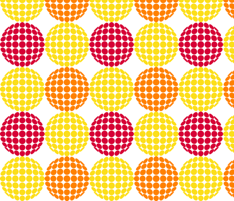 Citrus Mod fabric by coloroncloth on Spoonflower - custom fabric