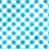 Alpen Rose Blue Gingham