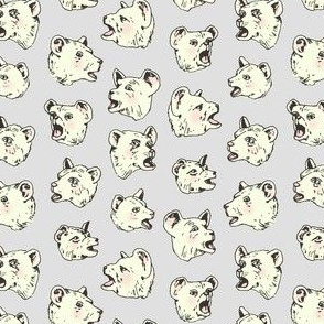 Burping Bears | Grey