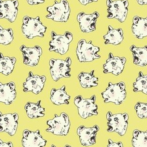 Burping Bears | Chartreuse