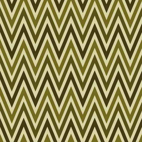 vert zig-zag fabric by vo_aka_virginiao on Spoonflower - custom fabric
