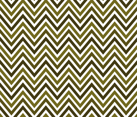 Vert Chevrons fabric by vo_aka_virginiao on Spoonflower - custom fabric