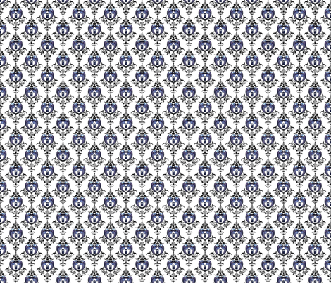 Doctor_Damask_close_med fabric by morrigoon on Spoonflower - custom fabric