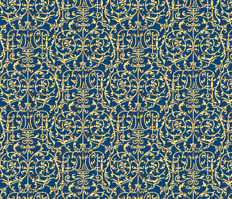 Renaissance Chip fabric by amyvail on Spoonflower - custom fabric