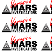 Veronica Mars- Large Red on White