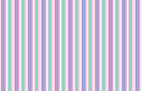 Woodland Stripe with lavender