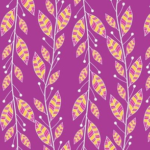 Bouquet Leaves (Purple)