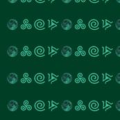 Teen Wolf Green on Green