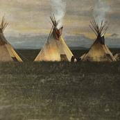Blackfeet Camp Walter McClintock_