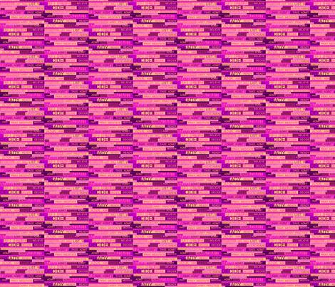 Twelve Step Verbs Seven fabric by pd_frasure on Spoonflower - custom fabric