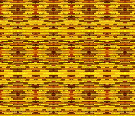 Twelve Step Verbs Eleven fabric by pd_frasure on Spoonflower - custom fabric