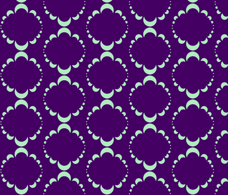 Moonflower fabric by spikymammal on Spoonflower - custom fabric