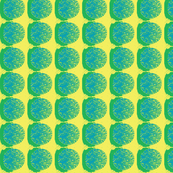 paper in turquoise and yellow