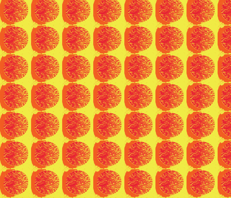paper in orange and yellow fabric by cherryjam on Spoonflower - custom fabric