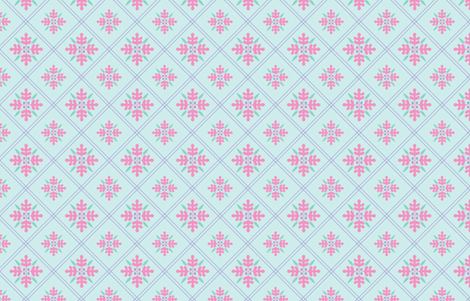 Woodland Trellis with Lavender  fabric by emma_smith on Spoonflower - custom fabric