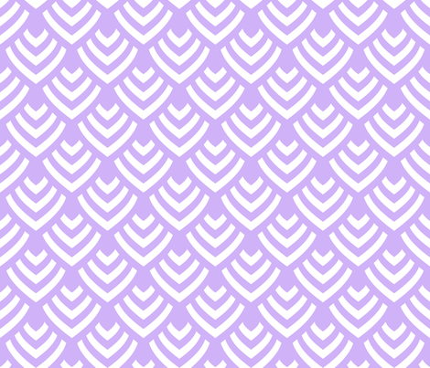 Plumage_Lavender_Big fabric by chicca_besso on Spoonflower - custom fabric