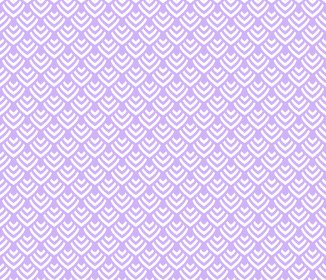 Plumage_Lavender_Little fabric by chicca_besso on Spoonflower - custom fabric