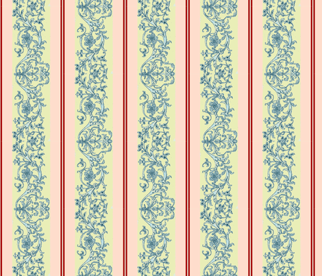 Summer Stripes fabric by amyvail on Spoonflower - custom fabric