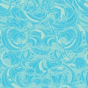 Blue Fleur