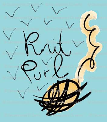 knit purl