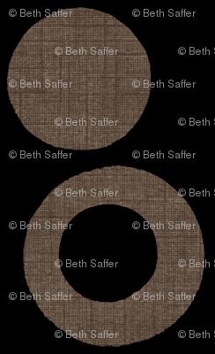 Mod Black Linen
